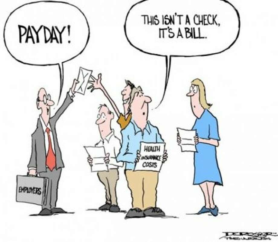 Payday! (John de Rosier / Albany Times Union)