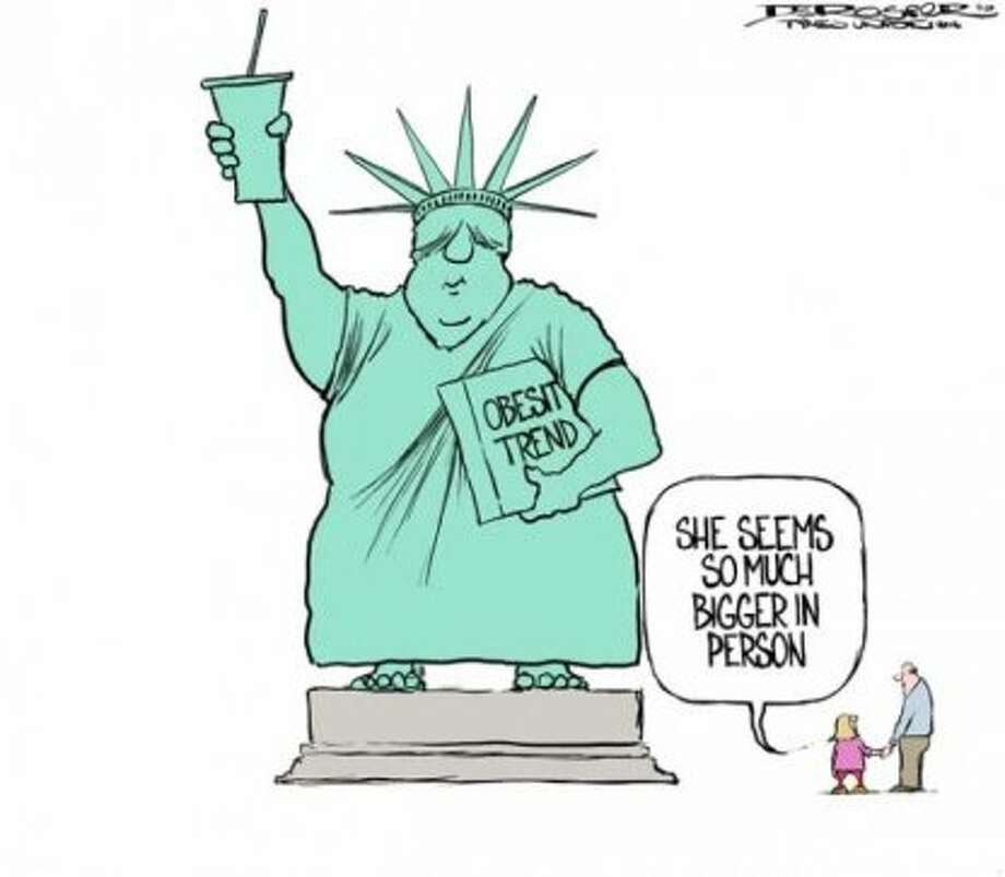 Liberty (John de Rosier / Albany Times Union)