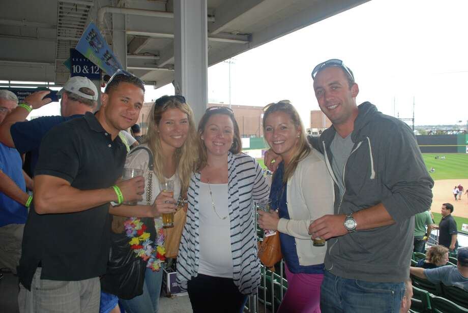 A perfect first day of fall to enjoy a cold one with your friend's and love one's! Harbor Brew Fest 9/22/12 Photo: Michael Spero / Hearst Connecticut Media Group