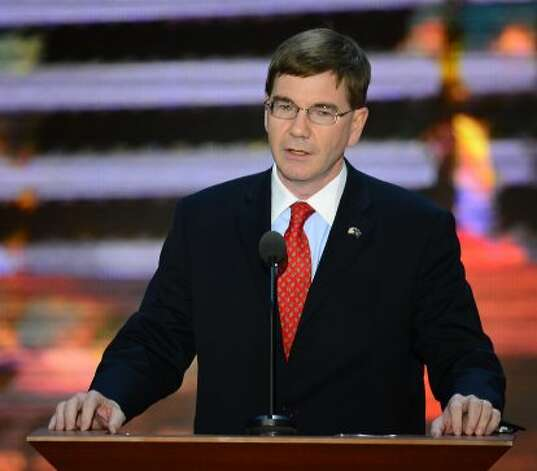 Keith Rothfus, congressional candidate from Pennsylvania, speaks during the second session of the 2012 Republican National Convention at the Tampa Bay Times Forum in Tampa, Tuesday, August 28, 2012. (Harry E. Walker/MCT) (Harry E. Walker / McClatchy-Tribune News Service)