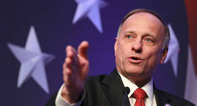 Reapportionment eliminated hard-right Republican Steve King's district and redistricting created a swing seat that is highly coveted by Democrats. Photo: Alex Brandon