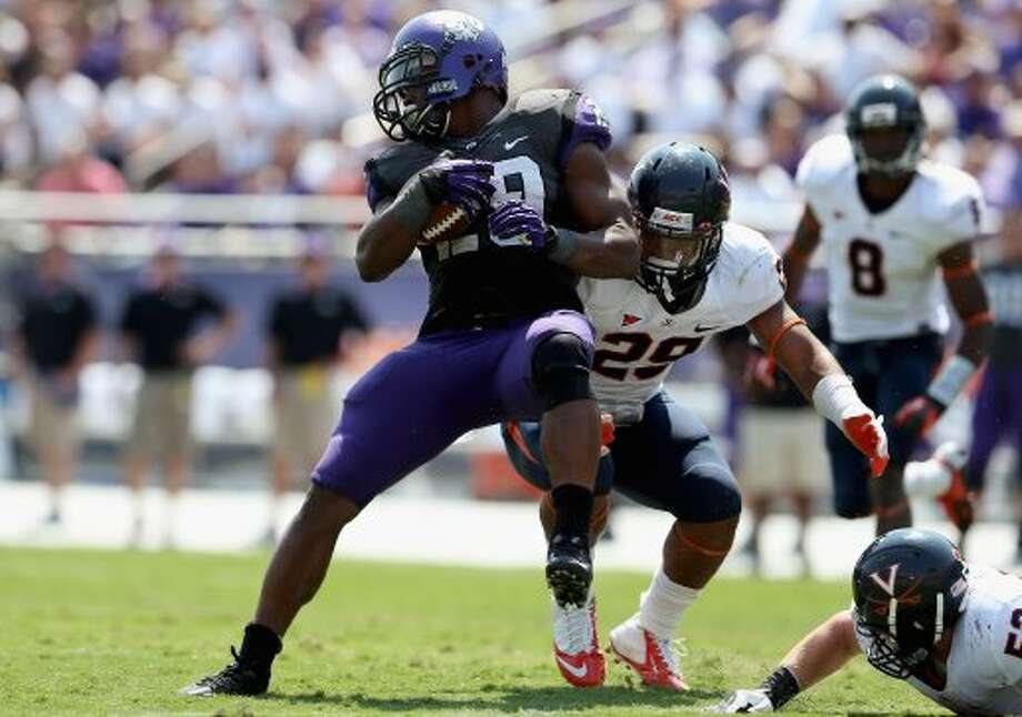 Matthew Tucker, TCU, 15 carries, 52 yards, 0 TDs(Ronald Martinez / Getty Images)