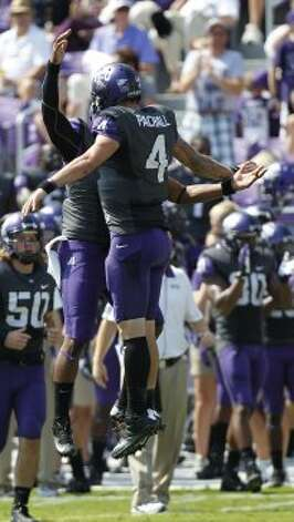 Trevone Boykin, TCU, Baylor, 3 carries, 51 yards, 0 TDs (LM Otero / Associated Press)