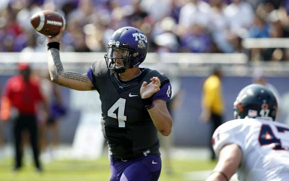 Casey Pachall, TCU, 21-32-1, 305 yards, 3 TDs (LM Otero / Associated Press)