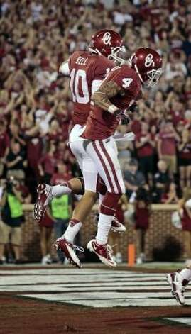 Kenny Stills, Oklahoma, 6 catches, 60 yards, 0 TDs (Brett Deering / Getty Images)