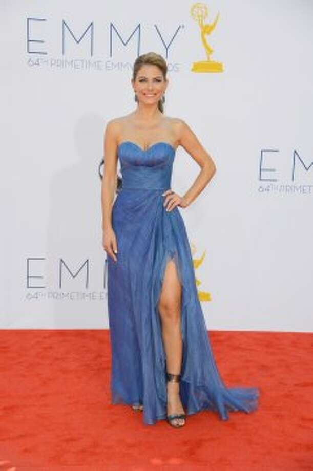 Television personality Maria Menounos arrives at the 64th Annual Primetime Emmy Awards at Nokia Theatre L.A. Live on September 23, 2012 in Los Angeles, California.   (Frazer Harrison / Getty Images)