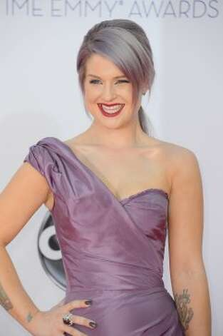Kelly OsbourneGorgeous dress, but can the matchy-matchy hair. (Frazer Harrison / Getty Images)