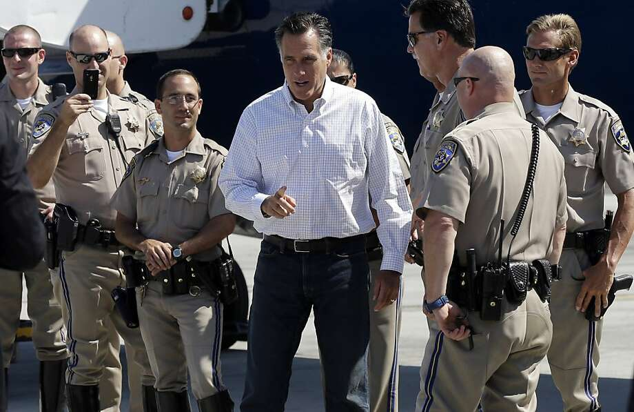 Republican presidential candidate Gov. Mitt Romney reiterates that he intends to cut tax rates by 20 percent while creating more jobs. Photo: Charles Dharapak, Associated Press