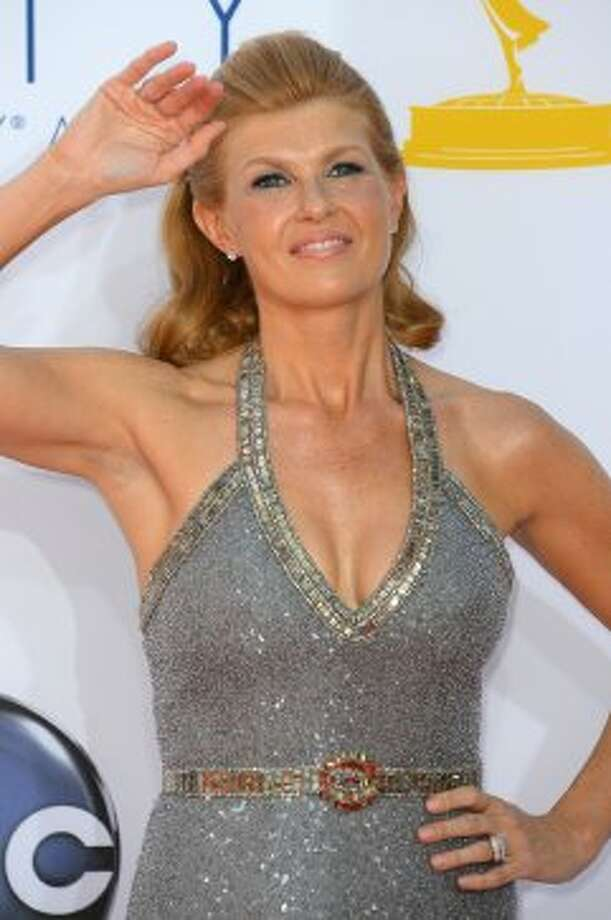 Connie Britton  The dress is fine. The hair is killer.(Frazer Harrison / Getty Images)