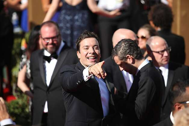 Jimmy Fallon at the 64th Annual Primetime Emmy Awards on Sunday, September 23, 2011, at Nokia Theatre, L.A. Live, in Los Angeles, California. (Arkasha Stevenson/Los Angeles Times/MCT) Photo: Arkasha Stevenson, McClatchy-Tribune News Service