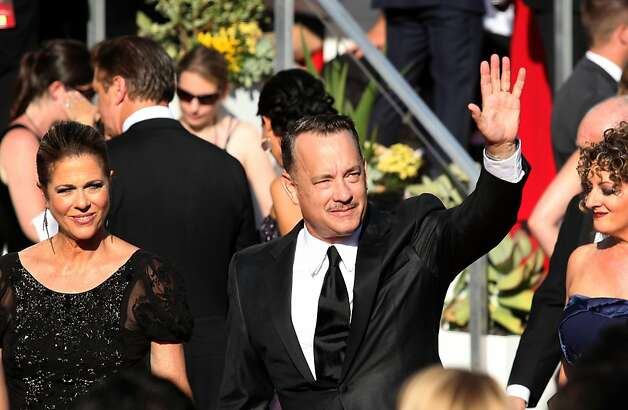 Tom Hanks at the 64th Annual Primetime Emmy Awards on Sunday, September 23, 2011, at Nokia Theatre, L.A. Live, in Los Angeles, California. (Arkasha Stevenson/Los Angeles Times/MCT) Photo: Arkasha Stevenson, McClatchy-Tribune News Service