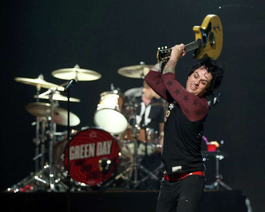 Green Day's Billie Joe Armstrong's freak out at iHeartRadio Music Festival this past weekend has led to the singer going to rehab.  Photo: Christopher Polk / 2012 Getty Images