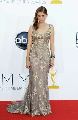 BEST: Still trying to figure out why movie actress Kate Mara was at the Emmys, but it hardly matters because she looked stunning in Badgley Mishka. Photo: MATT SAYLES/INVISION/AP