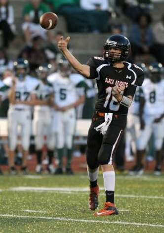 Stamford's Tyler Kane throws a pass during Friday's game against Norwalk at Stamford High School on September 21, 2012. (Lindsay Niegelberg / Lindsay Niegelberg)