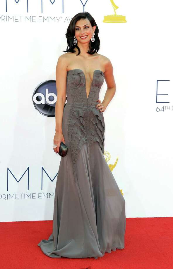 Morena BaccarinMuch double-faced tape was involved(Photo by Matt Sayles/Invision/AP) Photo: AP