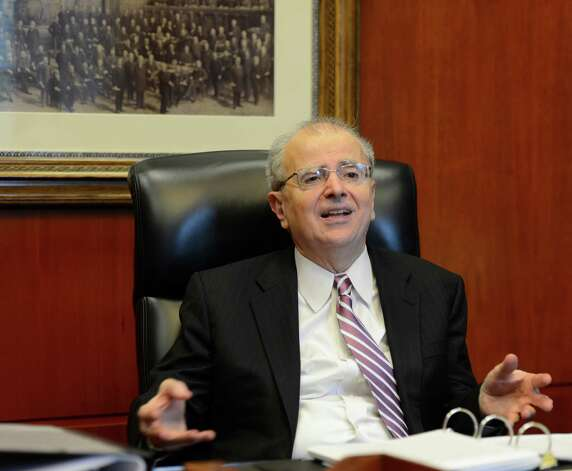 New York Chief Judge Jonathan Lippman speaks with the Times Union in his chambers in Albany, N.Y.  Sept. 6, 2012. (Skip Dickstein/Times Union) Photo: Skip Dickstein / 00019144A