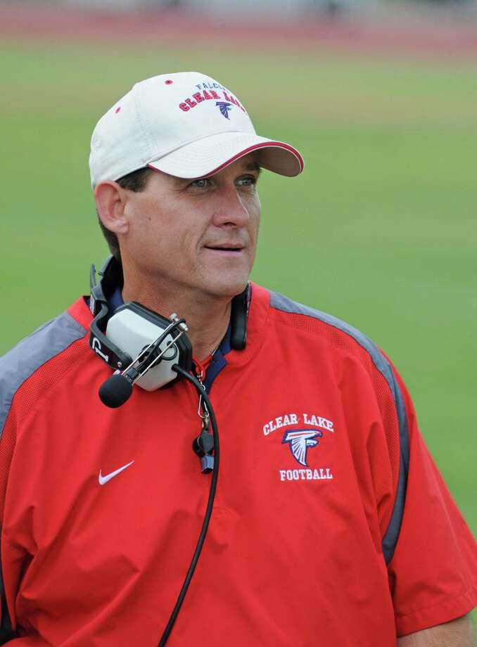 Clear Lake football head coach Sam Smith Photo: L. Scott Hainline / freelance