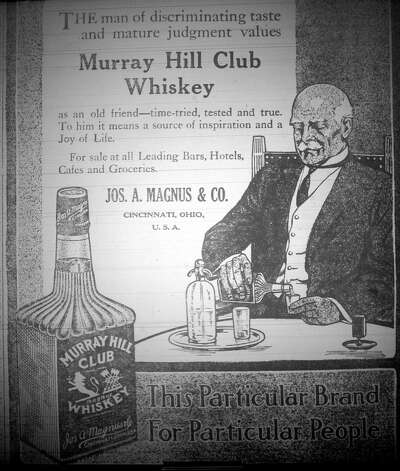 This was an ad for another whiskey, but more geared for the discriminating man.  This advertisement ran in the Saturday, September 21, 1912, eight page, Beaumont Enterprise.  Dave Ryan/The Enterprise Photo: Robert Owen