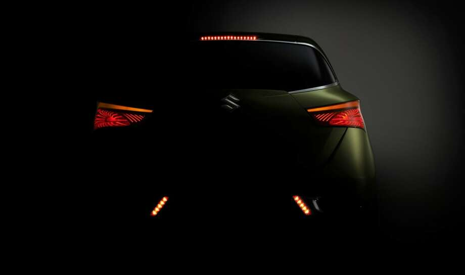 Suzuki S-Cross Concept Car (Photo: Suzuki) Photo: DM