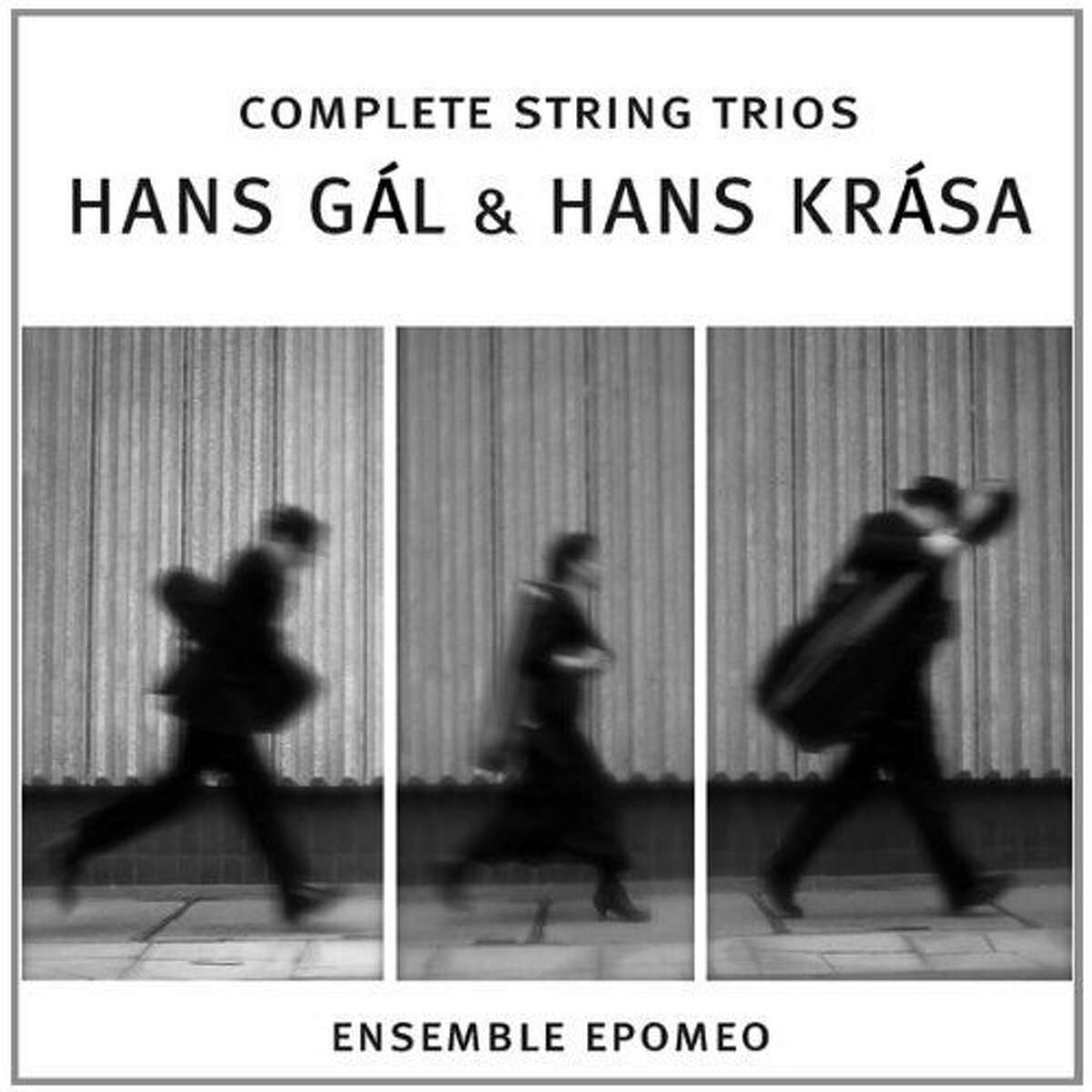 cd cover COMPLETE STRING TRIOS, HANS GAL AND HANS KRASA