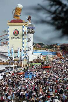 General view over the Oktoberfest beer festival.  (Photo by Johannes Simon/Getty Images) Photo: Johannes Simon, Ap/getty / 2012 Getty Images