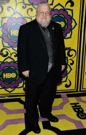 Writer George R.R. Martin arrives at HBO's Annual Emmy Awards Post Awards Reception at the Pacific Design Center on September 23, 2012 in West Hollywood, California.  (Michael Buckner / Getty Images)