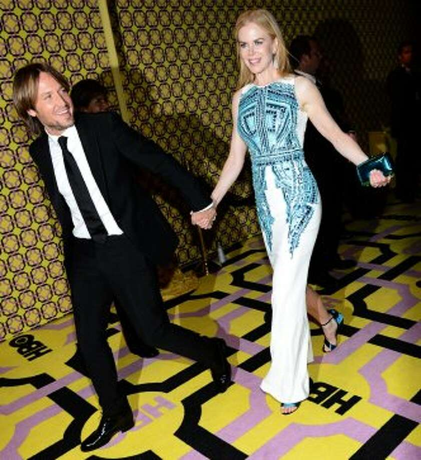 Musician Keith Urban (L) and actress Nicole Kidman arrive at HBO's Annual Emmy Awards Post Awards Reception at the Pacific Design Center on September 23, 2012 in West Hollywood, California.   (Michael Buckner / Getty Images)