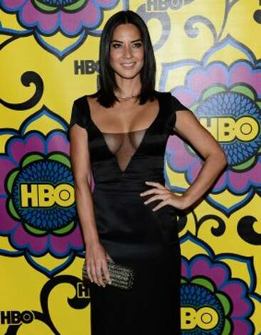 Actress Olivia Munn arrives at HBO's Annual Emmy Awards Post Awards Reception at the Pacific Design Center on September 23, 2012 in West Hollywood, California.   (Michael Buckner / Getty Images)