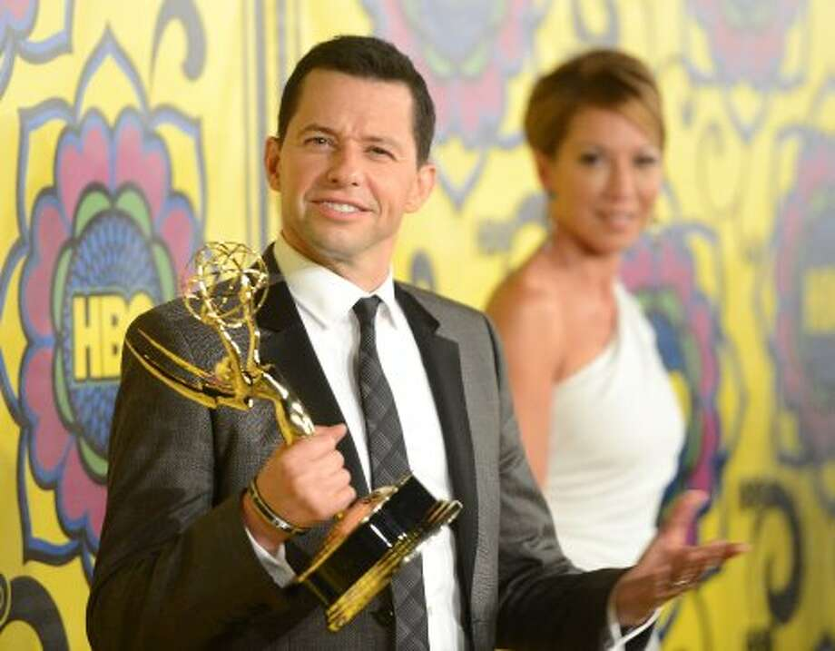 Actor Jon Cryer arrives at HBO's Annual Emmy Awards Post Awards Reception at the Pacific Design Center on September 23, 2012 in West Hollywood, California.  (Michael Buckner / Getty Images)
