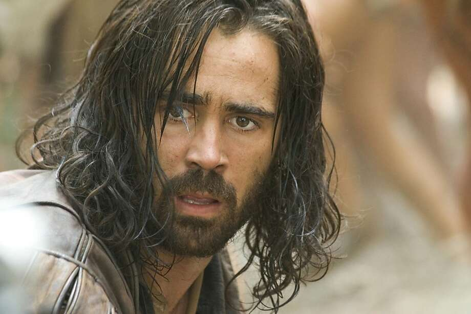 "Colin Farrell in Terrence Malick's ""The New World"": a masterpiece at 135 minutes. Photo: AP"
