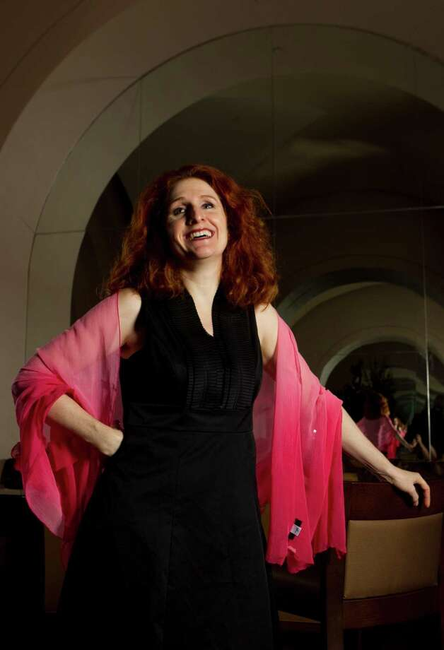 Laura Claycomb's recital program will consist of intimate songs by several composers. Photo: Brett Coomer, Houston Chronicle / Houston Chronicle