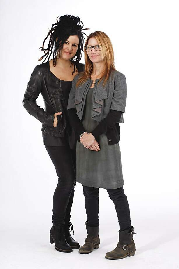 STYLEMAKER SPOTLIGHT: Adrienne Armstrong and Jamie Kidson Photo: Russell Yip, The Chronicle