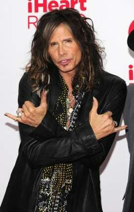 Singer Steven Tyler poses in the press room at the iHeartRadio Music Festival at the MGM Grand Garden Arena September 21, 2012 in Las Vegas, Nevada.  (Steven Lawton / Getty Images)