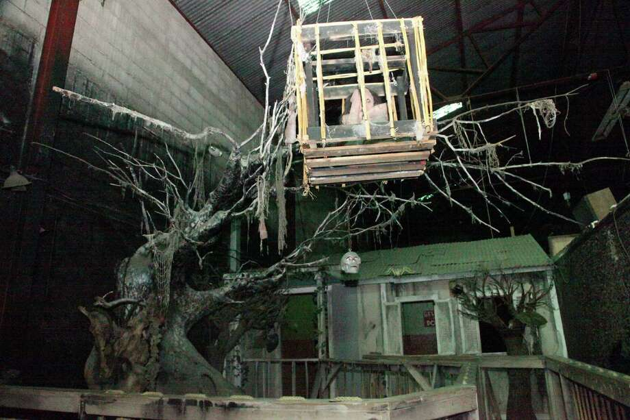 One of many rooms inside the Nightmare on Grayson, which is closing after 24 years to make room for retail and loft development there. Photo: Juanito M. Garza, San Antonio Express-News / San Antonio Express-News