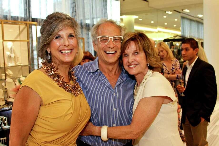 Joan Hornig, left, Mickey Rosmarin and Donna Josey Chapman Photo: Kim Coffman