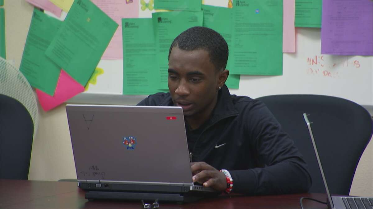 """Frontline's """"Dropout Nation"""" features Sharpstown High School, including student Lawerance."""