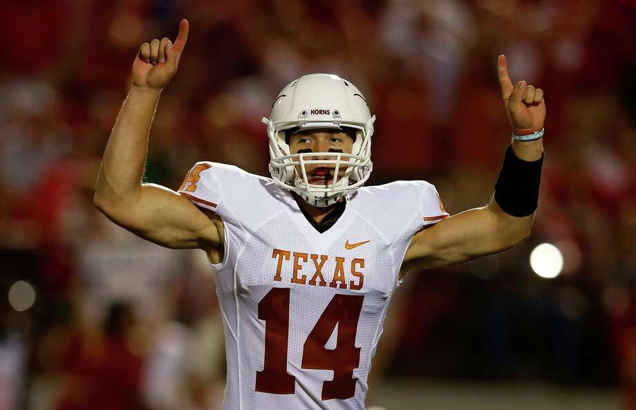 Texas' David Ash feels he's more popular than ever after throwing for 326 yards and four touchdowns against Mississippi, but will that affection be fleeting? Photo: Scott Halleran / 2012 Getty Images