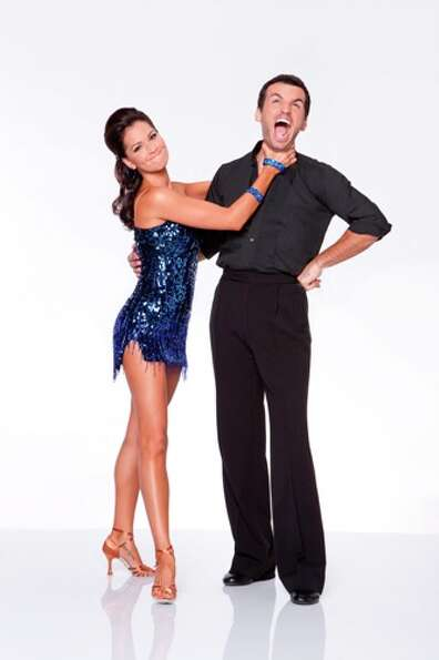 Melissa Rycroft and Tony Dovolani.