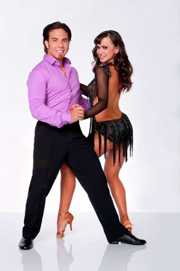 Apolo Anton Ohno and Karina Smirnoff.