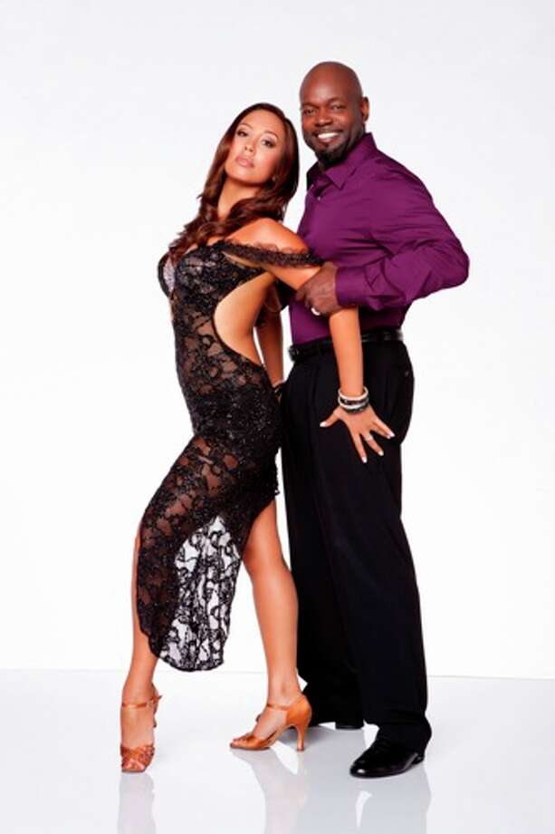 Emmitt Smith and Cheryl Burke.
