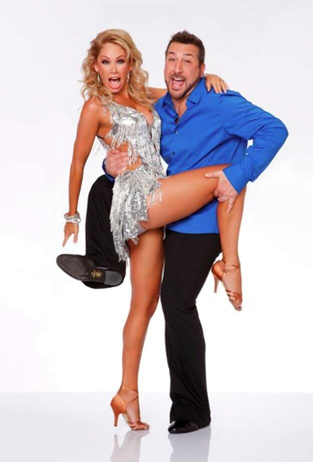 Joey Fatone and Kym Johnson.
