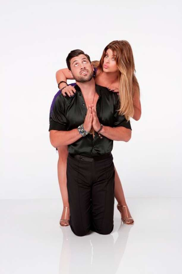 Kirstie Alley and Maksim Chmerkovskiy.