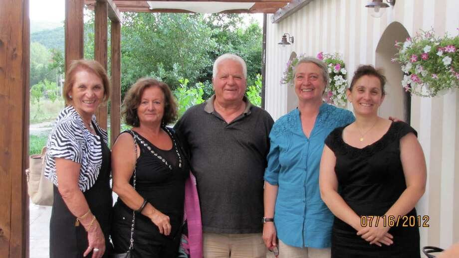 The people in the picture left to right are: Sandy Serafini, Celestina Picone, Cesare Maniccia, Angelina Tramontozzi, and Lisa Serafini. (Submitted by Jean  Porreca Brew)