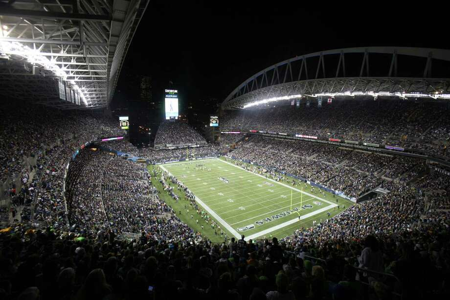 CenturyLink Field is shown as the Seattle Seahawks take on the Green Bay Packers during Monday Night Football on September 24, 2012 at CenturyLink Field in Seattle. Photo: JOSHUA TRUJILLO / SEATTLEPI.COM