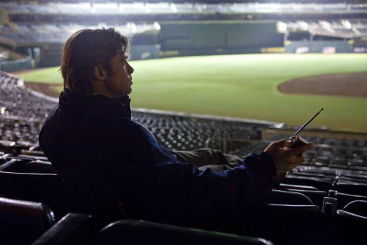 "You love ""Moneyball"" more than Buster Posey. (Melinda Sue Gordon / Sony Pictures)"