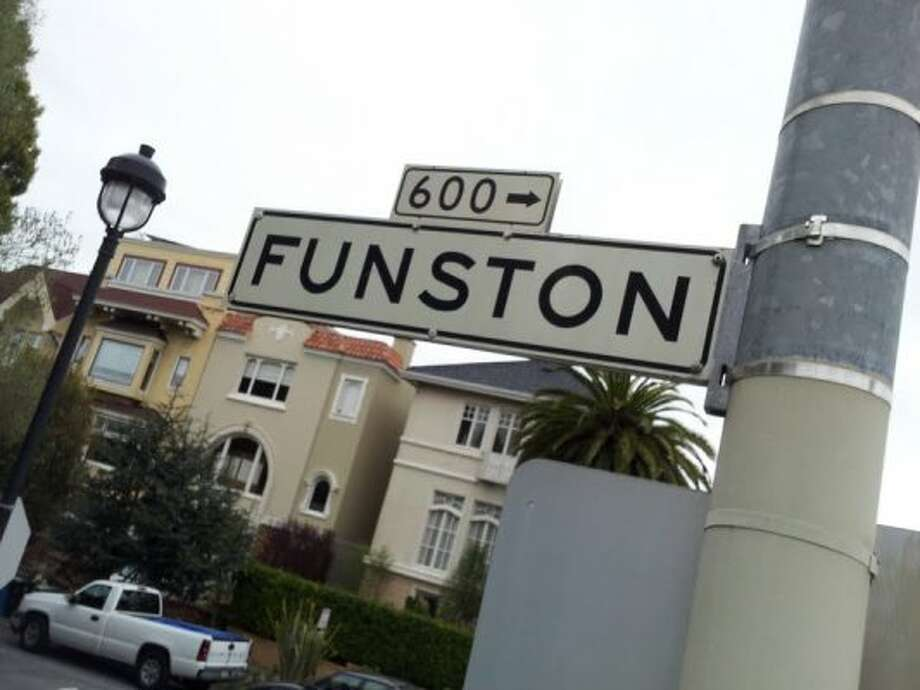 11th Ave., 12th Ave., wait, where's 13th?! In San Francisco, there isn't one. Funston Ave. takes the place of a would-be 13th, only to have the numbering pattern pick back up at 14th.