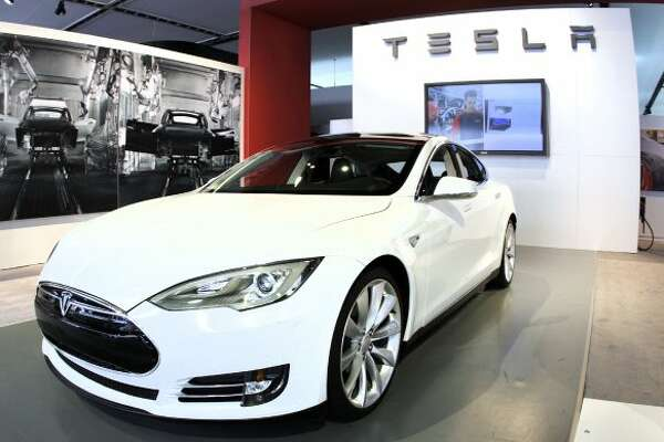 DETROIT, MI, - JANUARY 10: The Tesla Model S Signature is shown during a media preview day at the 2012 North American International Auto Show January 10, 2012 in Detroit, Michigan. The NAIAS opens to the public January 14th and continues through January 22nd. (Photo by Bill Pugliano/Getty Images) (Bill Pugliano / Getty Images)