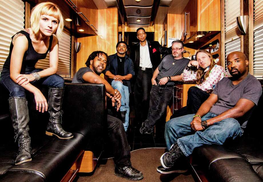 Bass ace Victor Wooten (second from left) and his band will be part of the 2012 edition of UTOPIAfest in the Hill Country Photo: Courtesy Photo