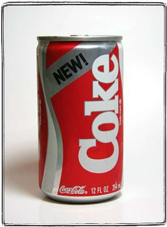 """New Coke [will be] the most significant soft drink development in [the] company's history … the surest move ever made."" – Roberto Goizueta, Coca Cola Co. chairman, 1985""Um, no."" – American cola drinkers."