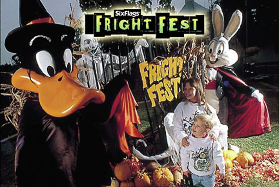 Six Flags Fiesta Texas' Fright Fest - frightfest.sixflags.com/fiestatexas Photo: COURTESY PHOTO